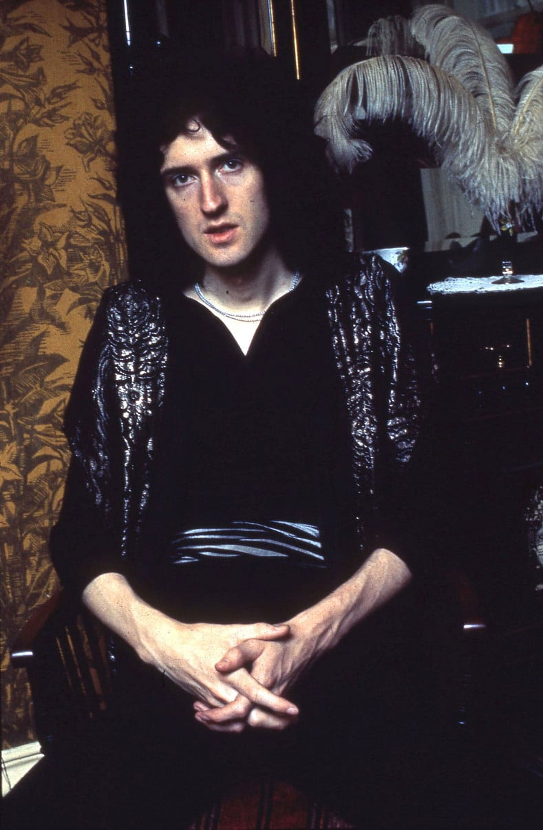 005867 - Brian May of Queen in 1973