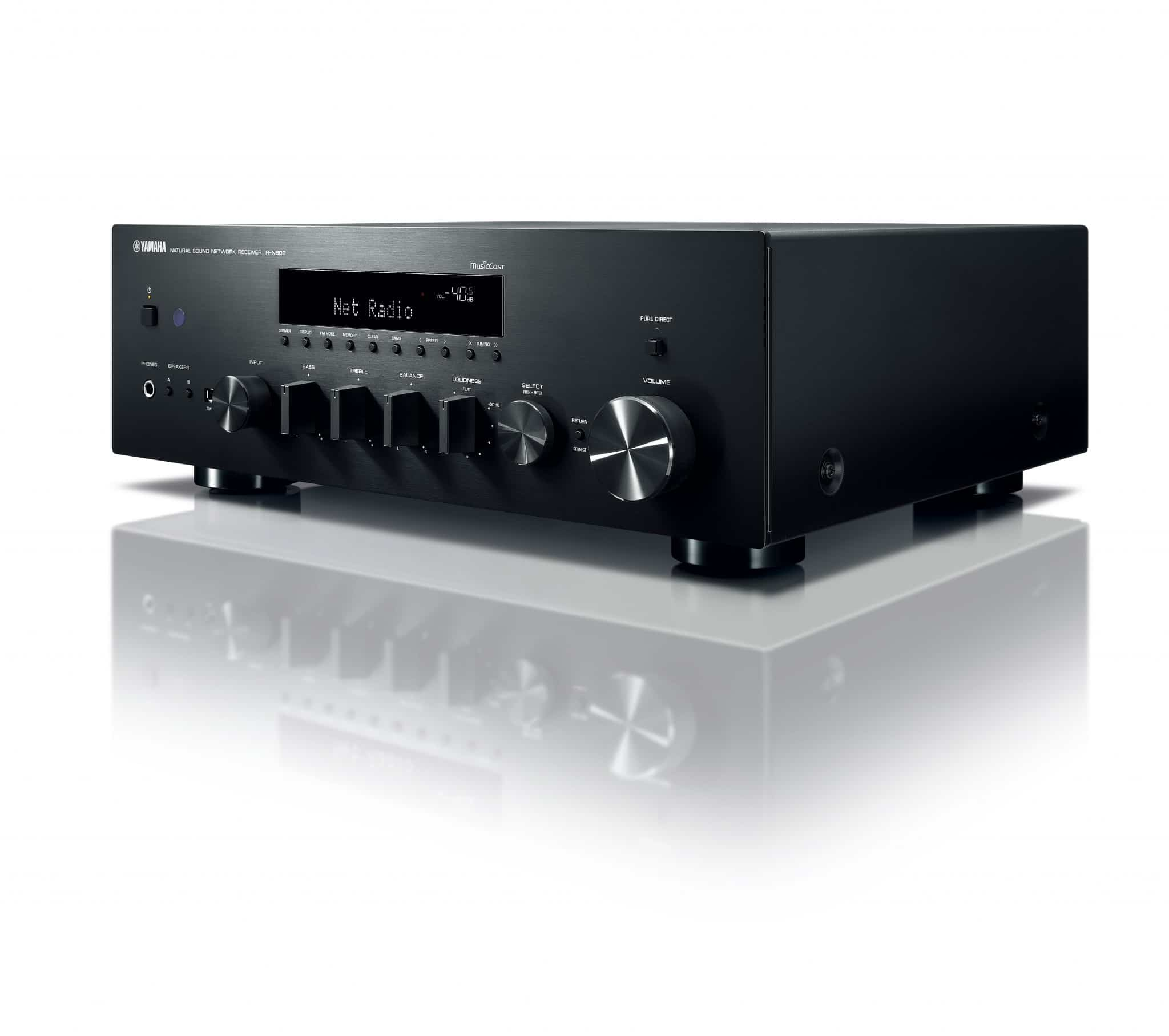 yamaha r n602 on the receiving end the audiophile man. Black Bedroom Furniture Sets. Home Design Ideas