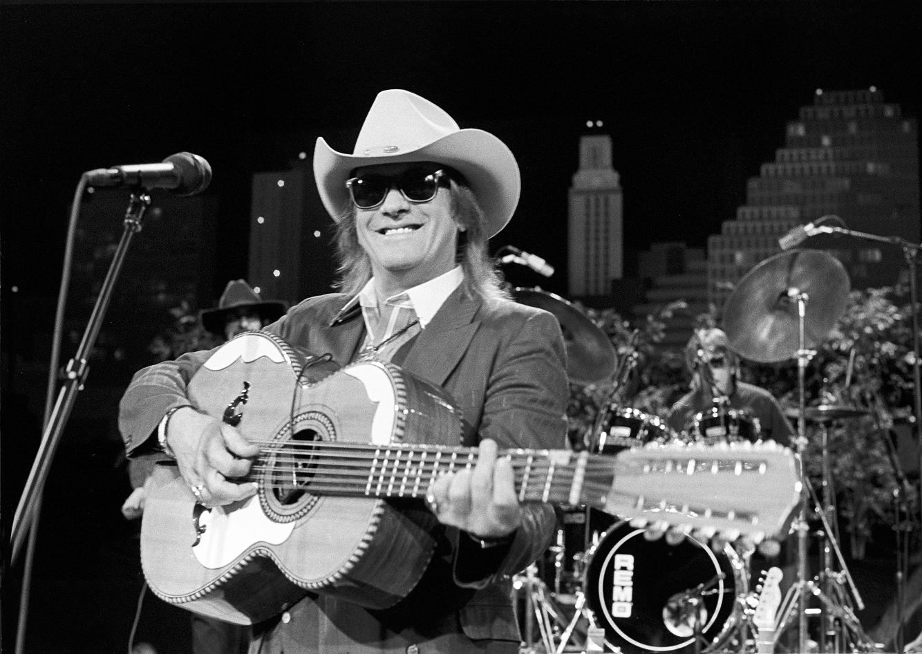 Doug Sahm onstage at Austin City Limits 1990.