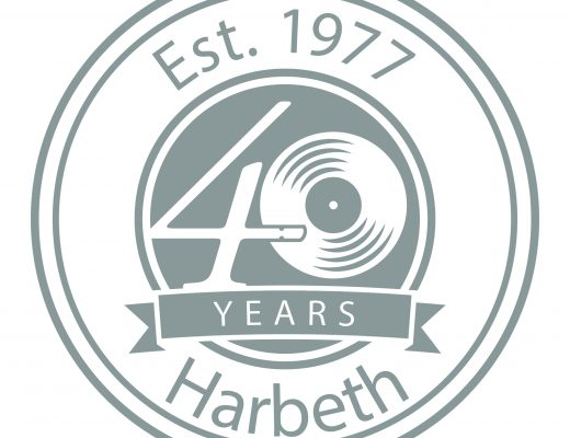 Harbeth 40th logo