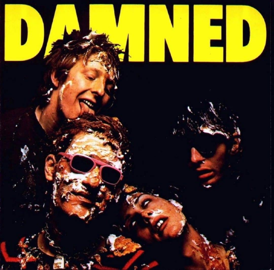 The Damned 'Damned Damned Damned' Art Of The Album edition album packshot (c) BMG Music 2016