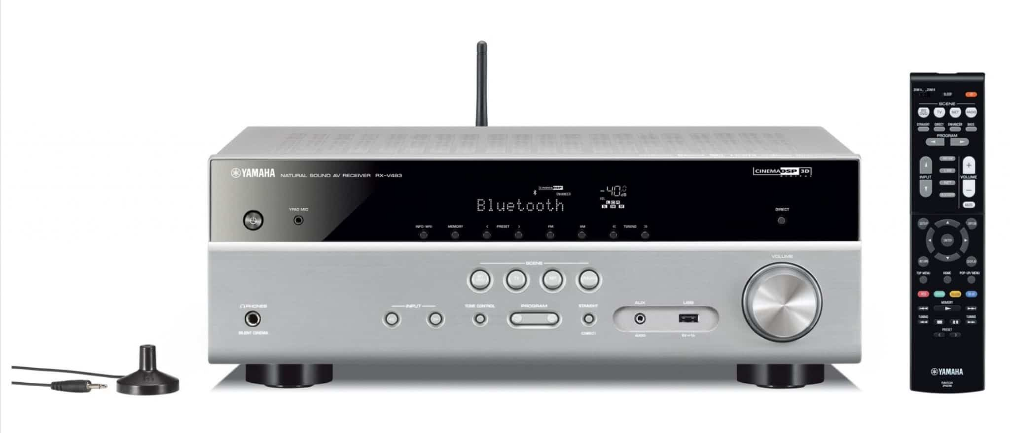 Yamaha s entry level multi channel receivers the rx v383 for Yamaha multi room receiver