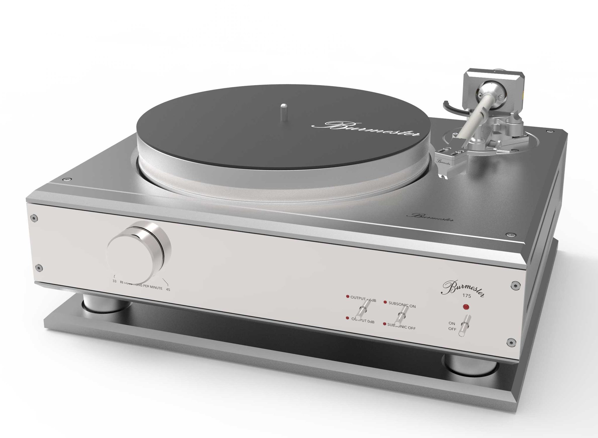 Burmester 175 The Company S First Turntable To Celebrate