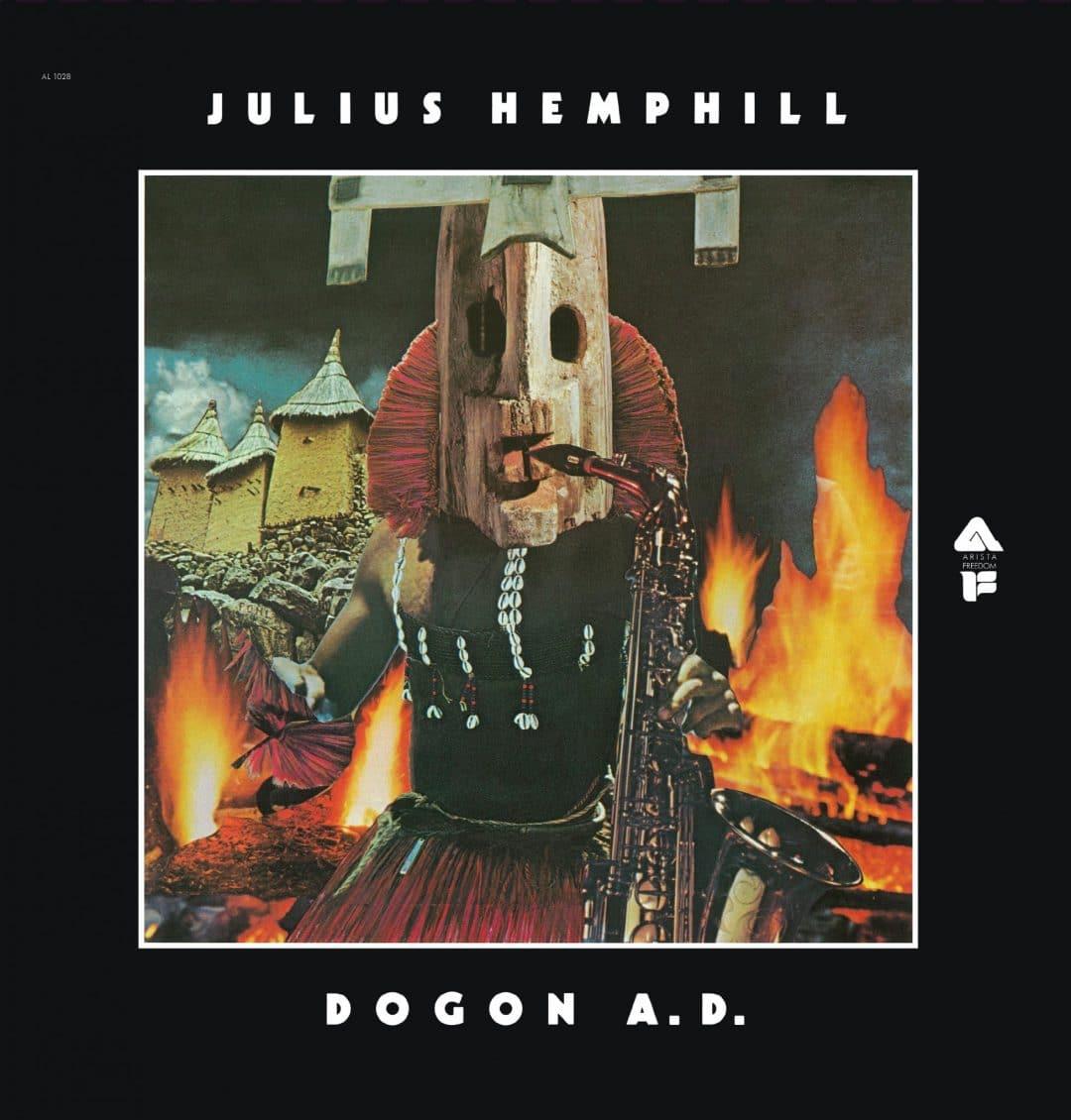Julius Hemphill, DOGON A.D. FRONT COVER