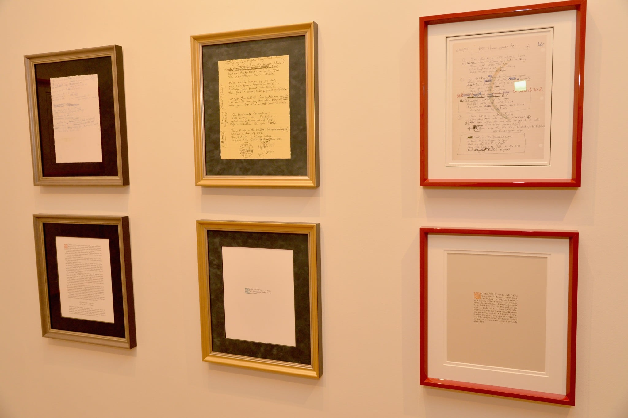George Harrison Exhibition 1