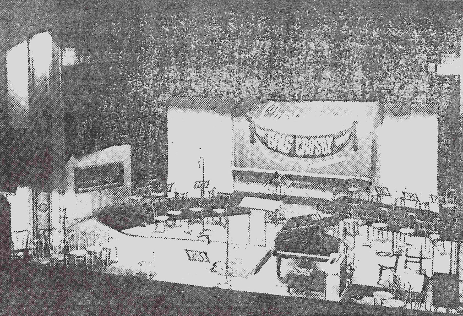 A rare although poor quality image of the Vine Street Theater (now The Montalban Theater), set-up for the Bing Crosby Show (Norm Dewes/BCE/RP)