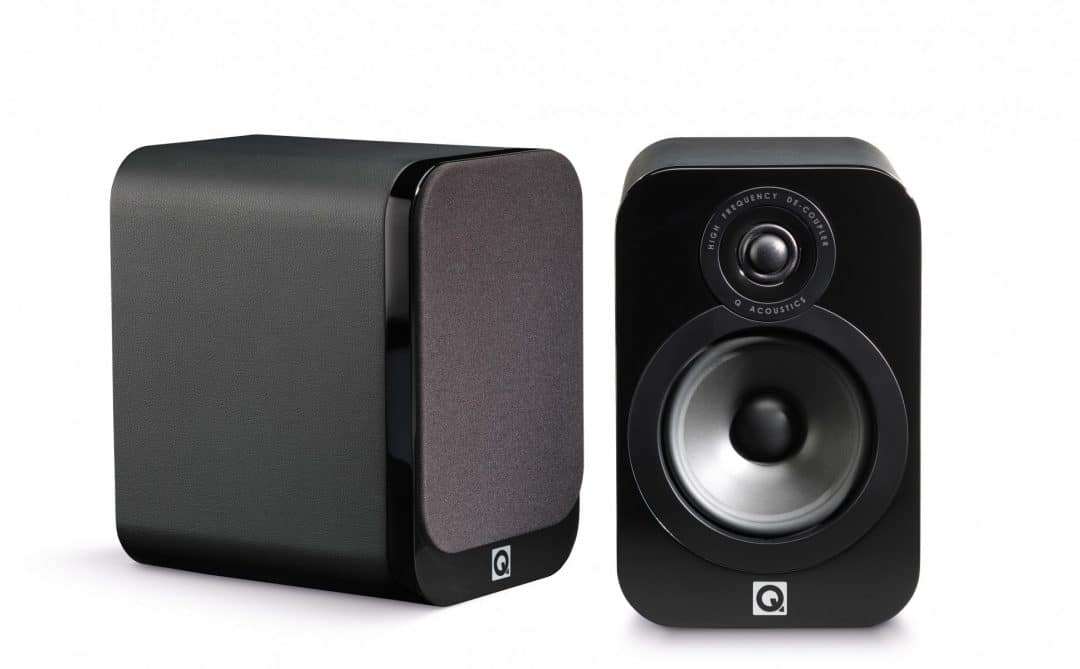 Q Acoustics 3020 Bookshelf Speakers First In The