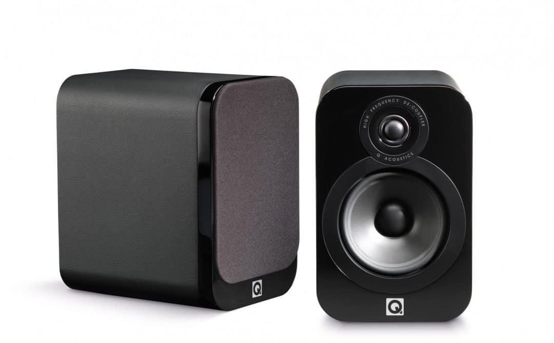 Q Acoustics 3020 Bookshelf Speakers First In The