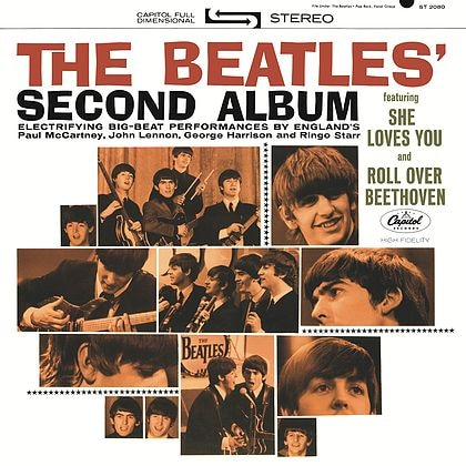 The Beatles' Second Album packshot