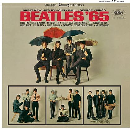 Beatles '65 Packshot