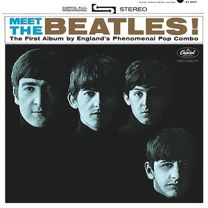 Meet the Beatles Packshot