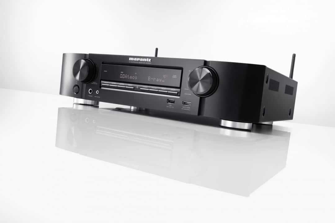 Marantz NR1607 Slim Design Receiver with dolby atmos - The Audiophile Man