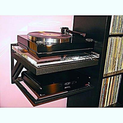 Decent Audio Turntable Wall Shelf