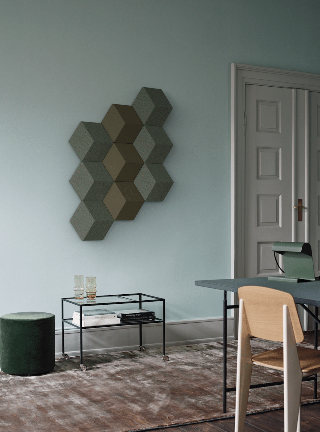 BeoSound makes some Shapes: Off the Wall Music, smiles at tiles ...