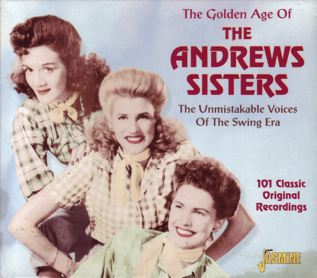 the andrews sisters cheery swinging harmony girls for you and for