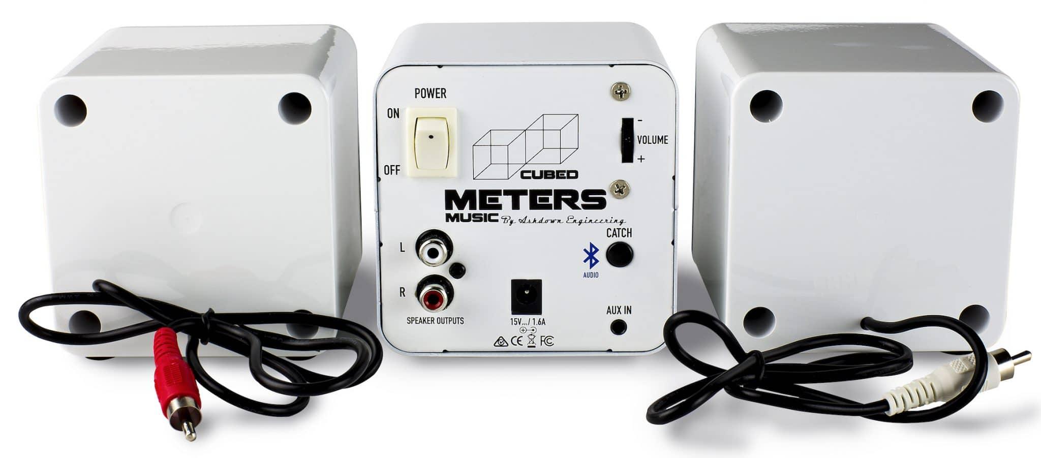 Meters Music: Meters Cubed wireless speaker system - The Audiophile Man