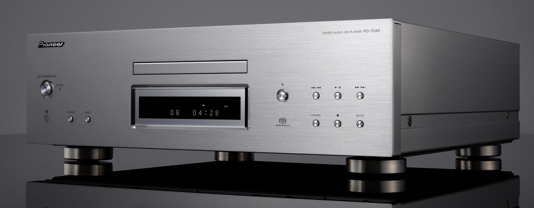 pioneer pd 70ae new flagship sacd player dac the. Black Bedroom Furniture Sets. Home Design Ideas