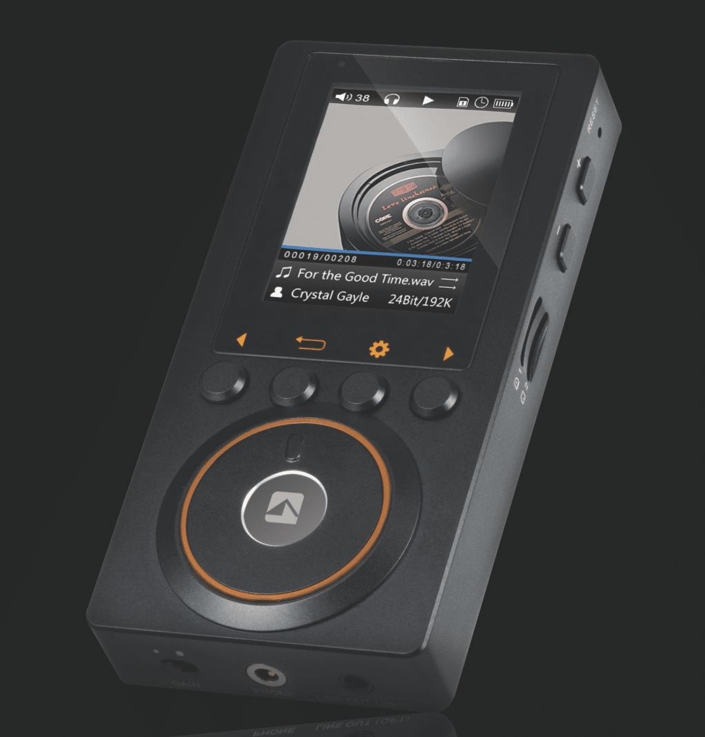 ATC HDA-DP10: Digital Audio Player Arrives in 32 bits - The