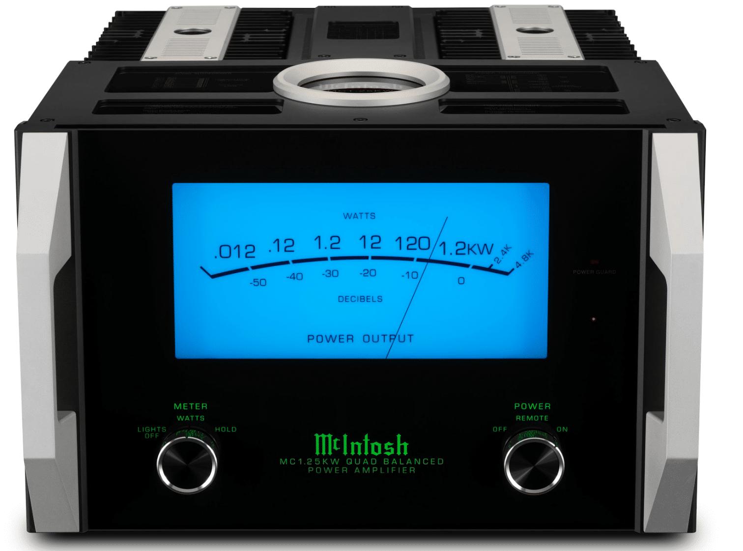 mcintosh mc1 25kw quad balanced power amplifier  single-chassis monoblock amp