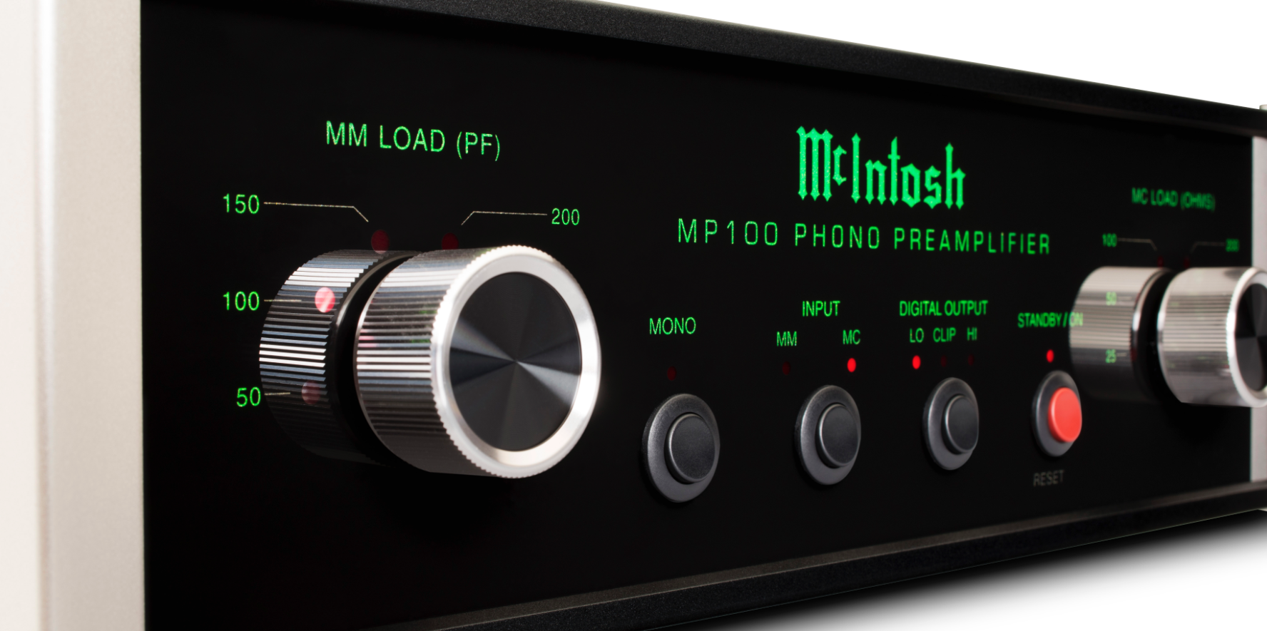 Mcintosh Mp100 Phono Amplifier Getting The Right Balance Preamplifier Input From Moving Coil Head So Bass Must Be Strong Dominant And Hit You Over Yes Well No Actually Was Thats True Underlying