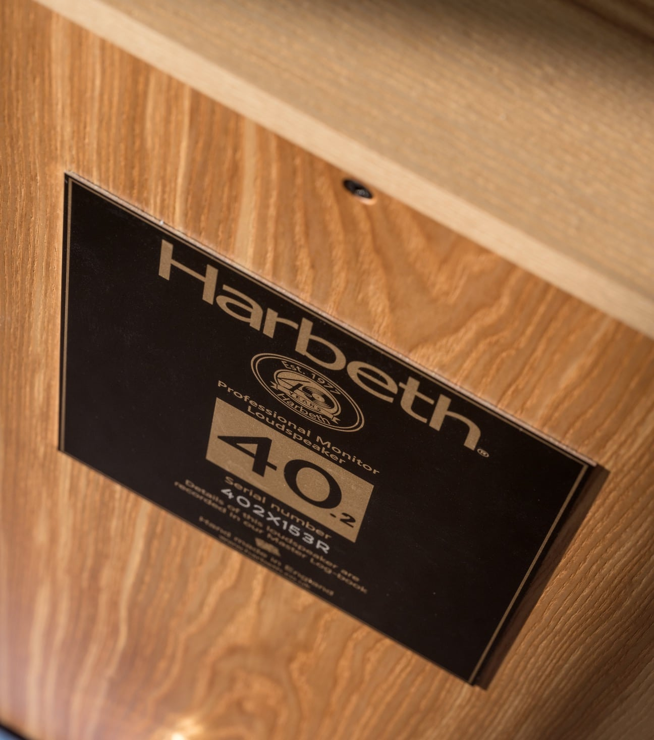 Harbeth P3ESR & M40.2: Limited Edition