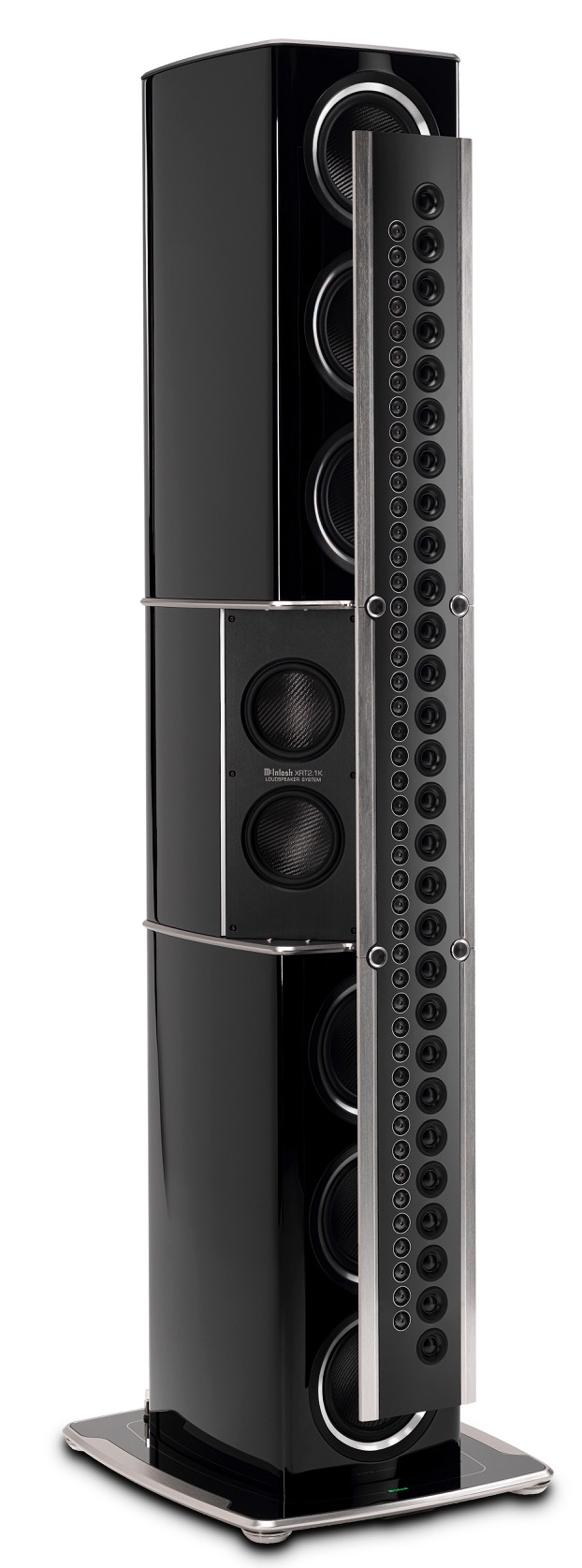 McIntosh announces Nanocarbon-driver tech loudspeaker, the XRT2.1K