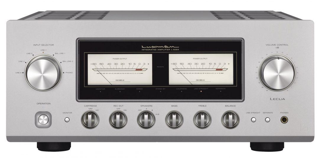 Luxman L 509x Class Ab Integrated Amplifier With Knobs On