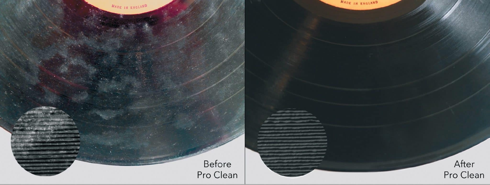 Pro-Clean from Vinylene UK: Vinyl Record Cleaning service