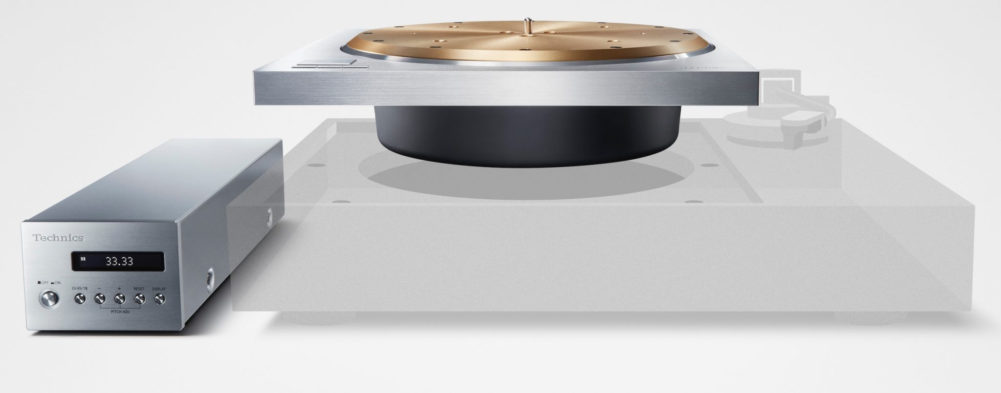 Technics SP-10R and SL-1000R Direct Drive Turntables