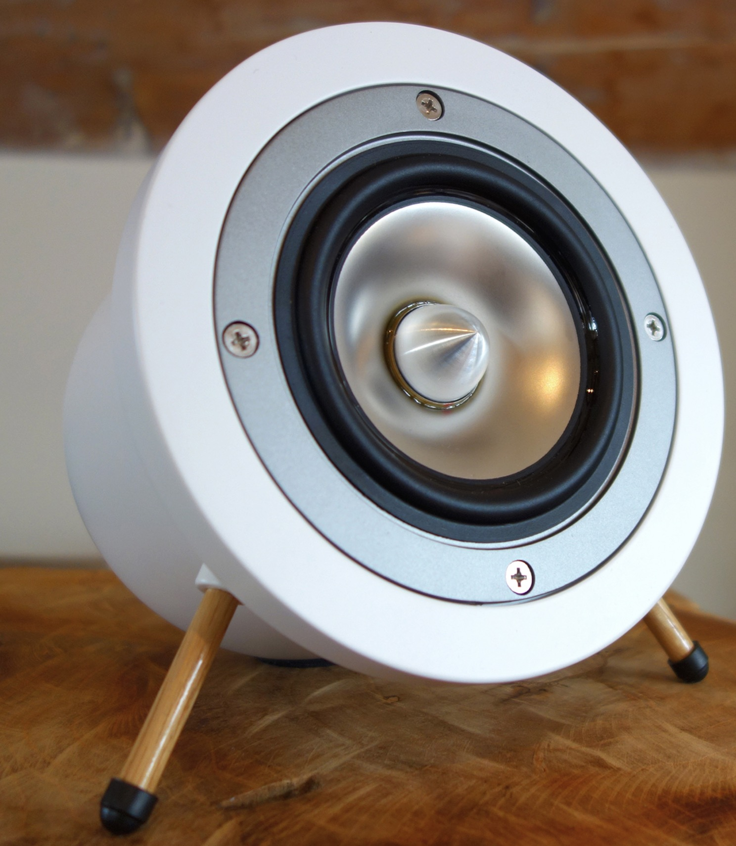 Degas Audio D1 Speaker: Using full-range titanium drivers