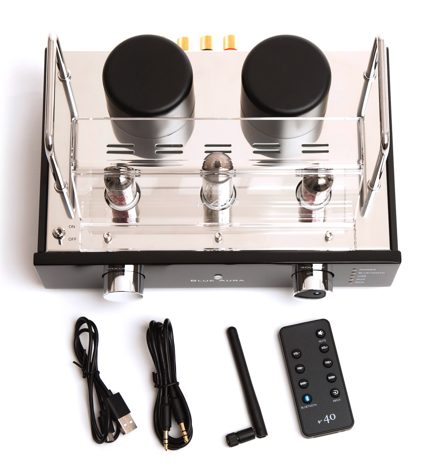 Blue Aura Blackline v40 amplifier: Valves and Bluetooth