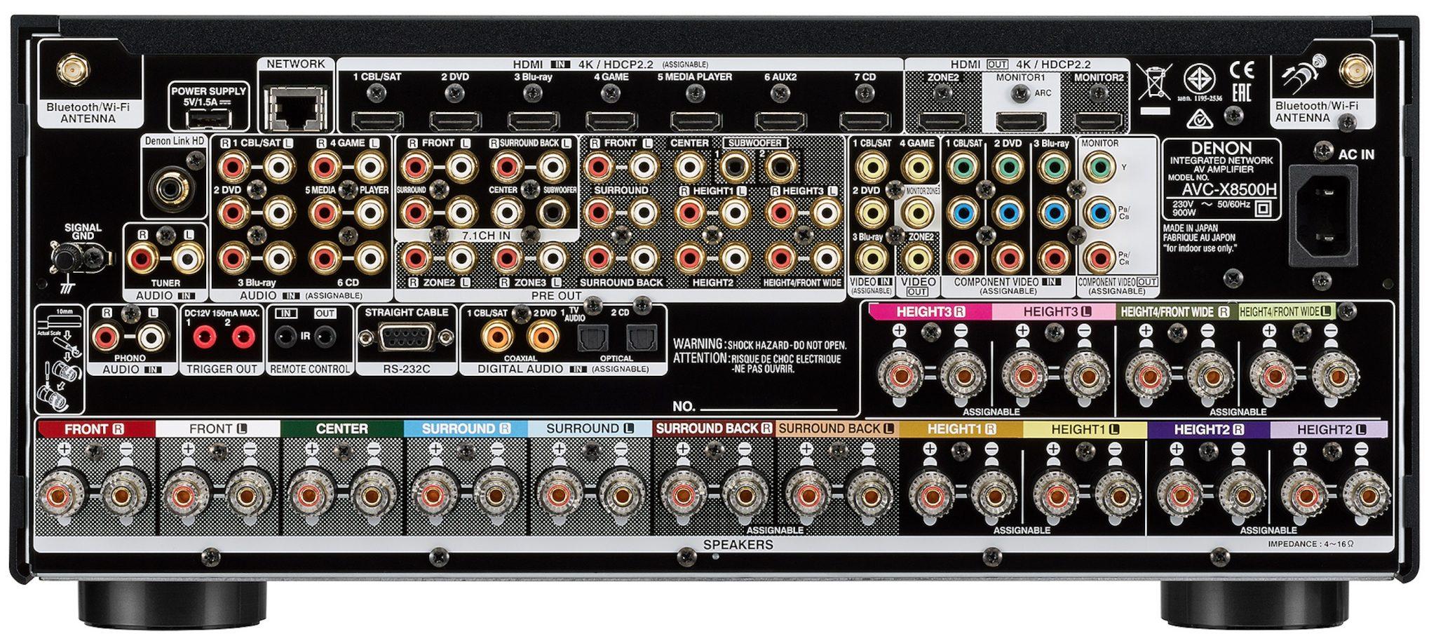 Denon AVC-X8500H 13 Channel Amplifier
