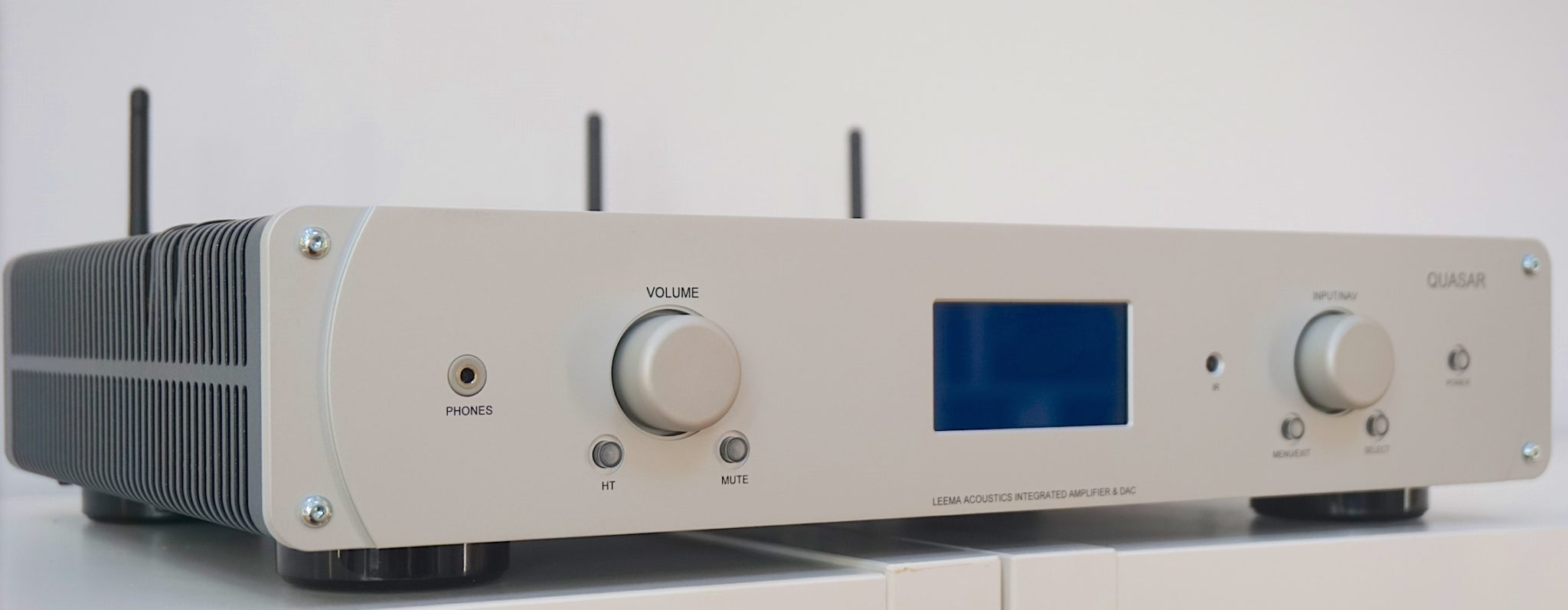 Quasar, an all-in-one hi-fi system from Leema