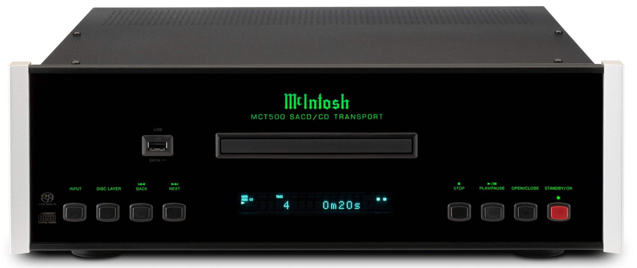MCT500 SACD/CD transport From McIntosh