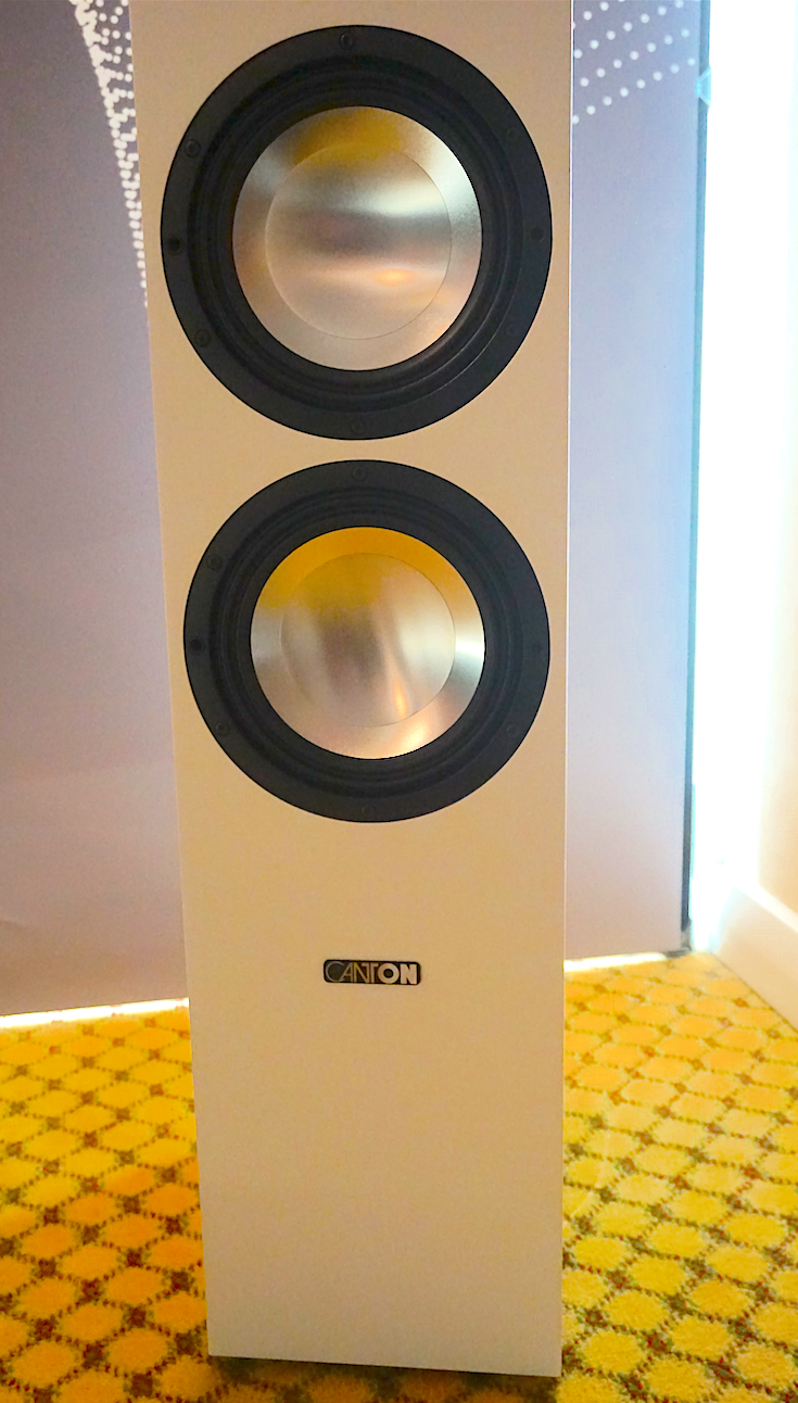 The Sound & Vision 2018 Show Report: Canton's GLE496.2 BT Active speakers