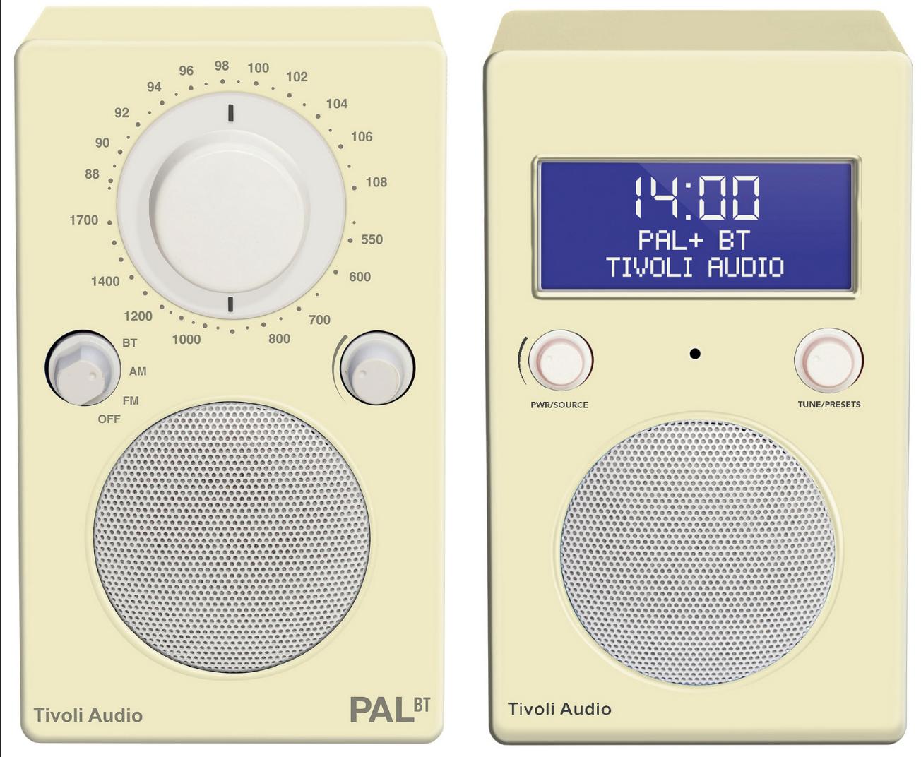 Tivoli Colour Trio: PAL BT & PAL+ BT (DAB)