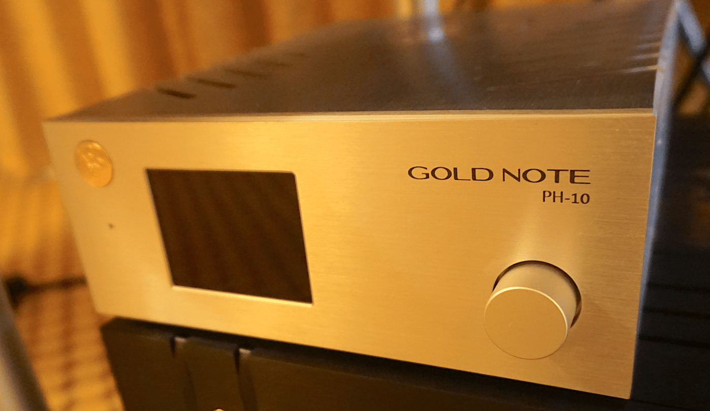 SOUND & VISION 2018: GOLDNOTE