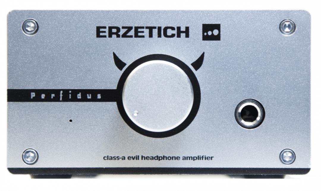 Perfidus headphone amplifier From Erzetich - The Audiophile Man
