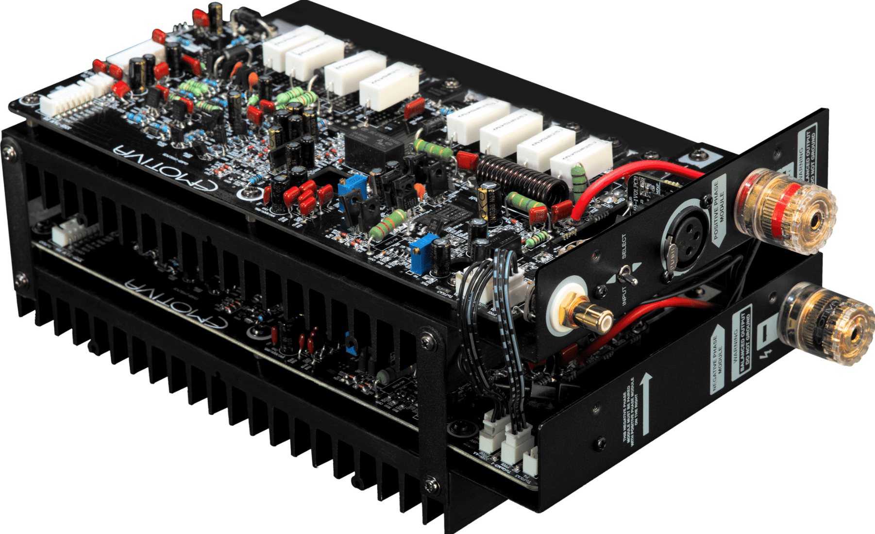 XPA-DR1, 2 & 3 POWER AMPS FROM EMOTIVA