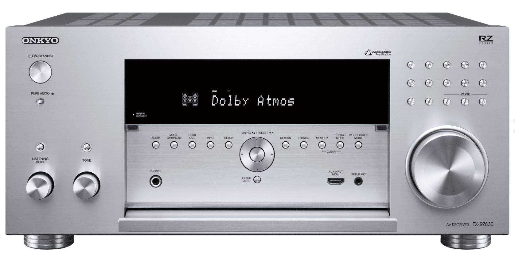Onkyo RZ Receivers: TX-RZ730 & TX-RZ830 - The Audiophile Man