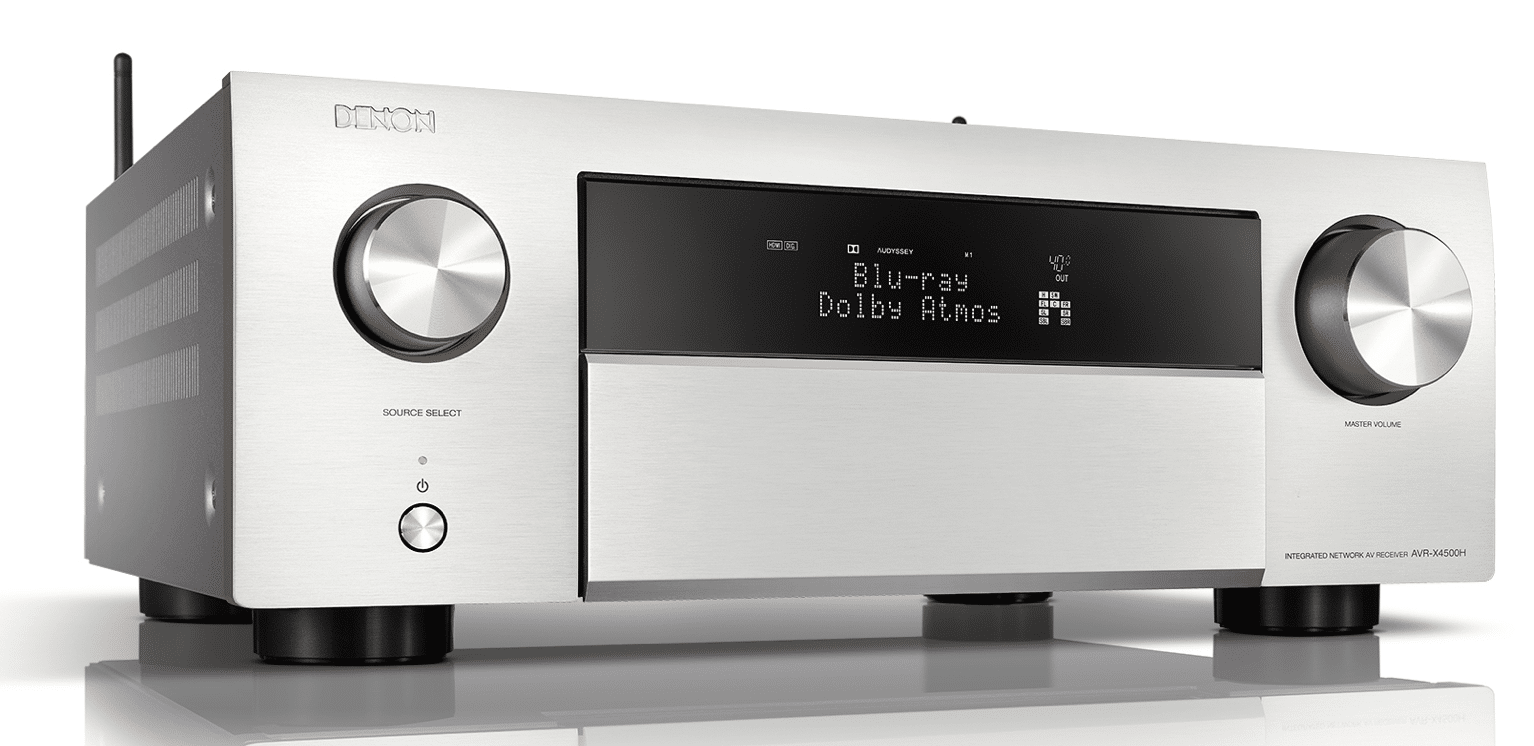 AVR-X4500H and AVR-X3500H From Denon