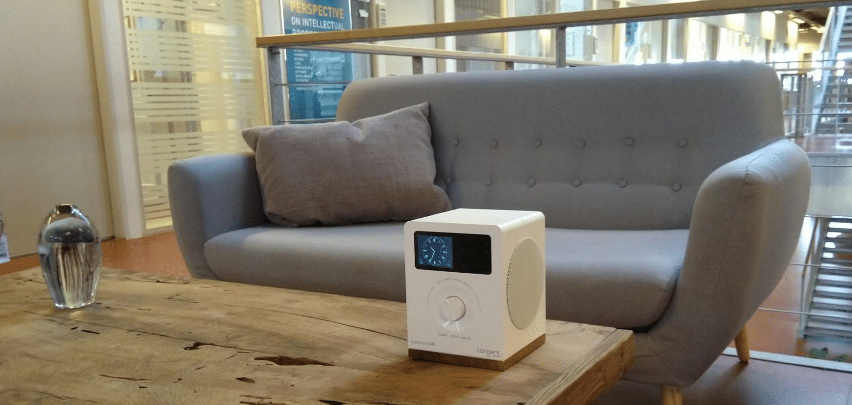 Spectrum DAB Radio and W1 multi-room speakers From Tangent