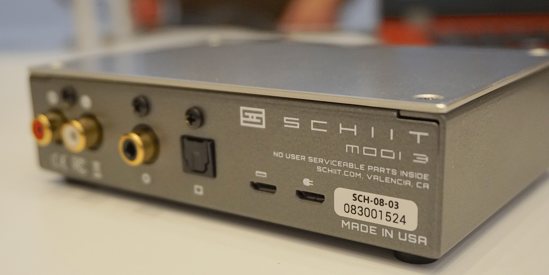 FESTIVAL OF SOUND 2018: SCHIIT Modi 3