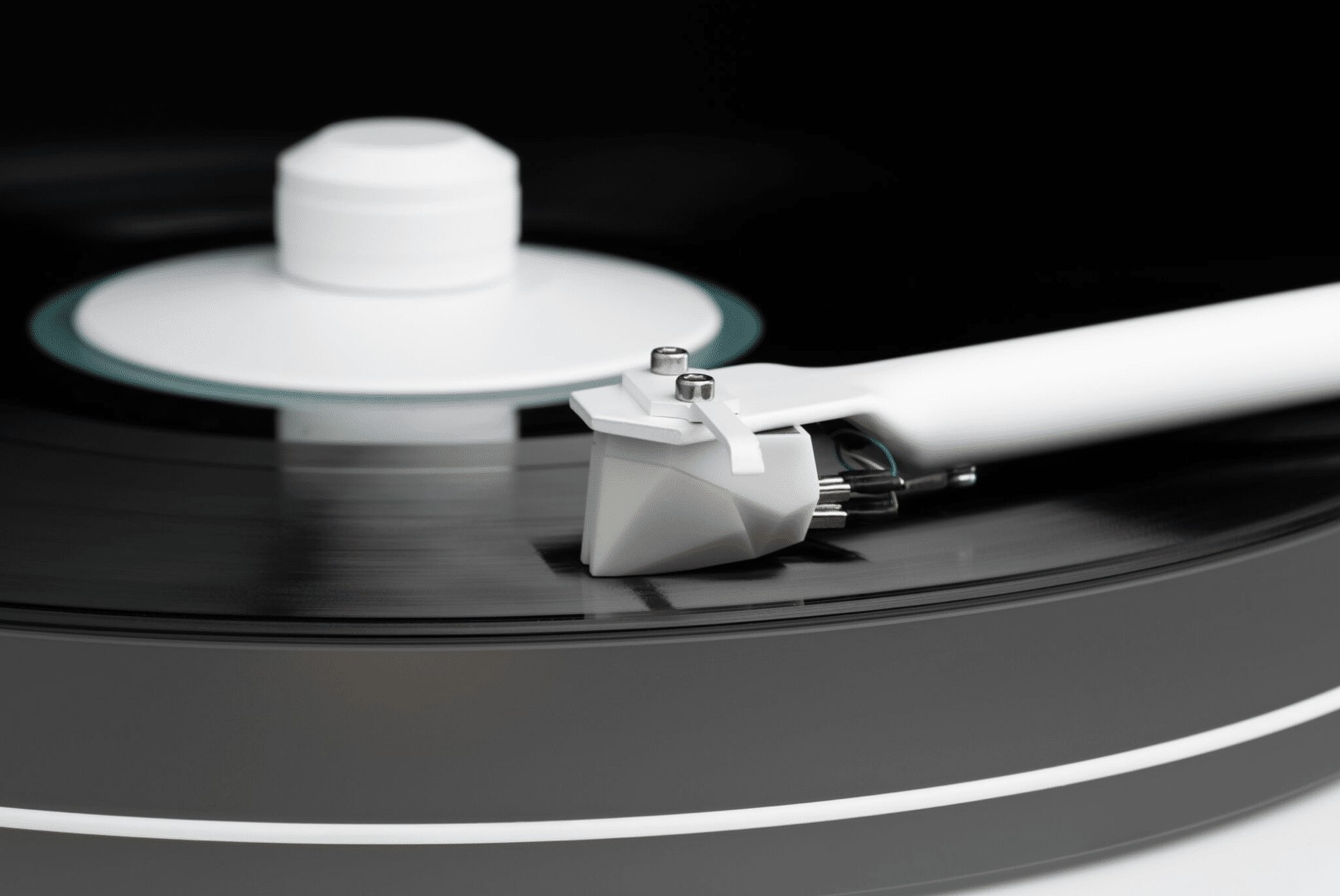 White Album Beatles' Turntable From Pro-Ject