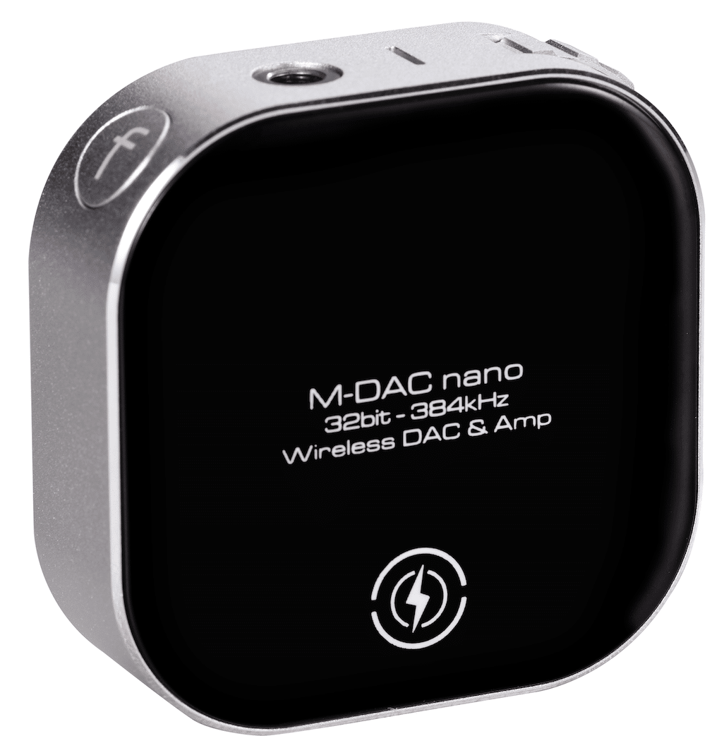 M-DAC Nano mobile DAC/headphone amp From Audiolab