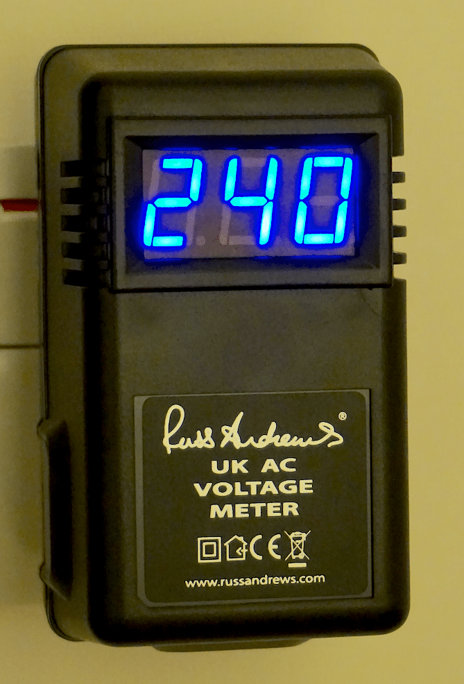 Personalised BMU1500 Mk.II balanced mains from Russ Andrews