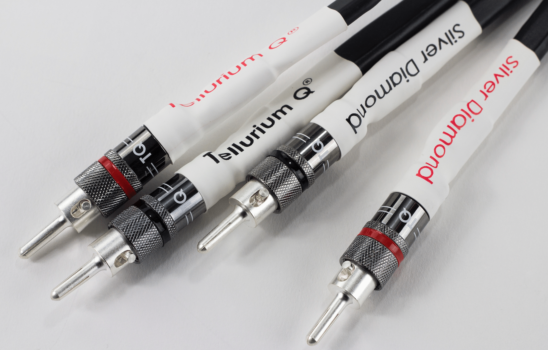 Silver Diamond Cables From Tellurium Q