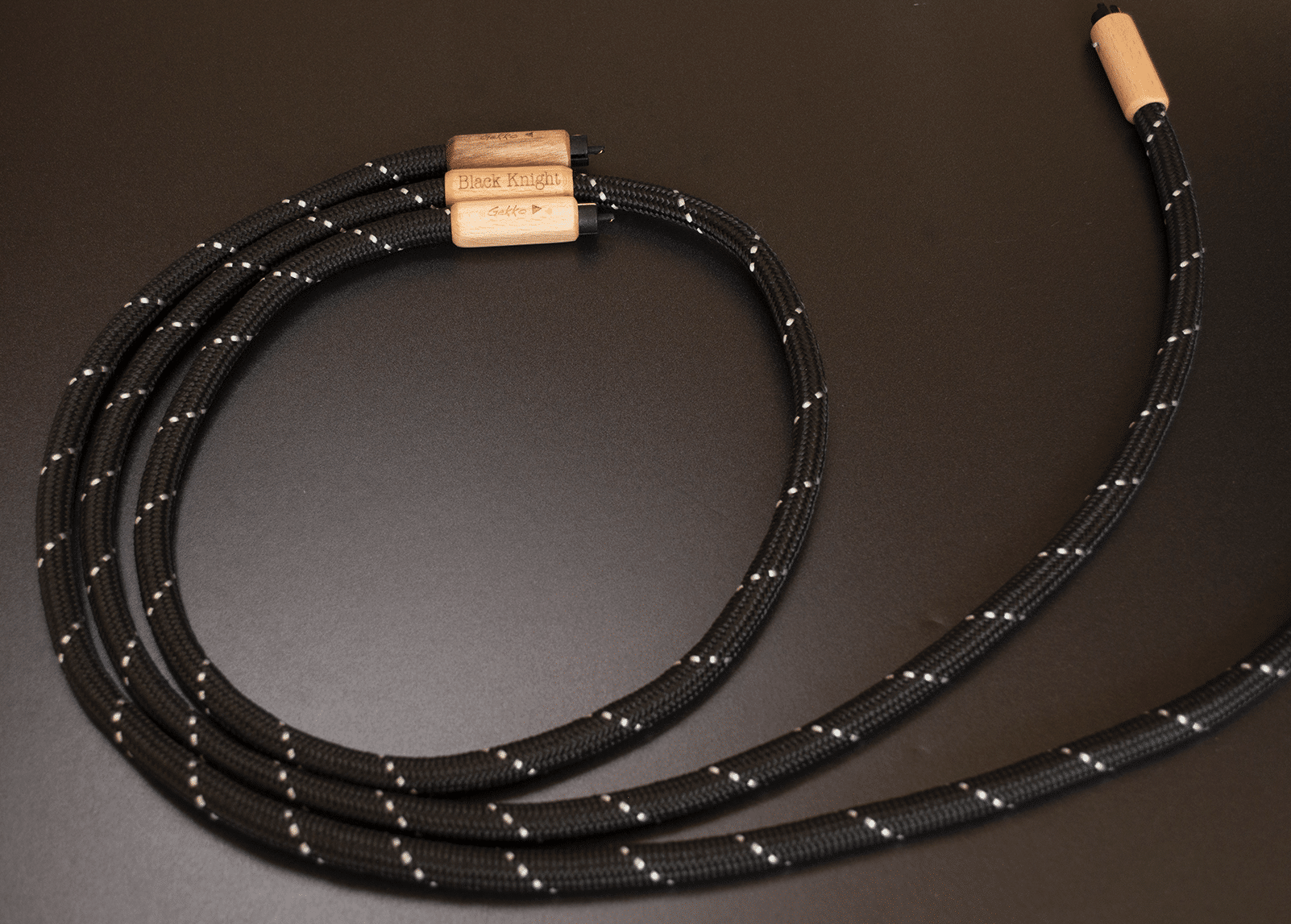 Black Knight Interconnect Cables By Gekko