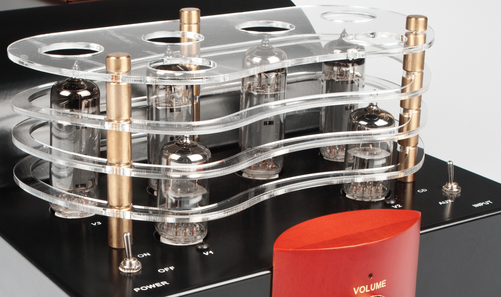 A10 integrated valve amplifier From Pure Sound