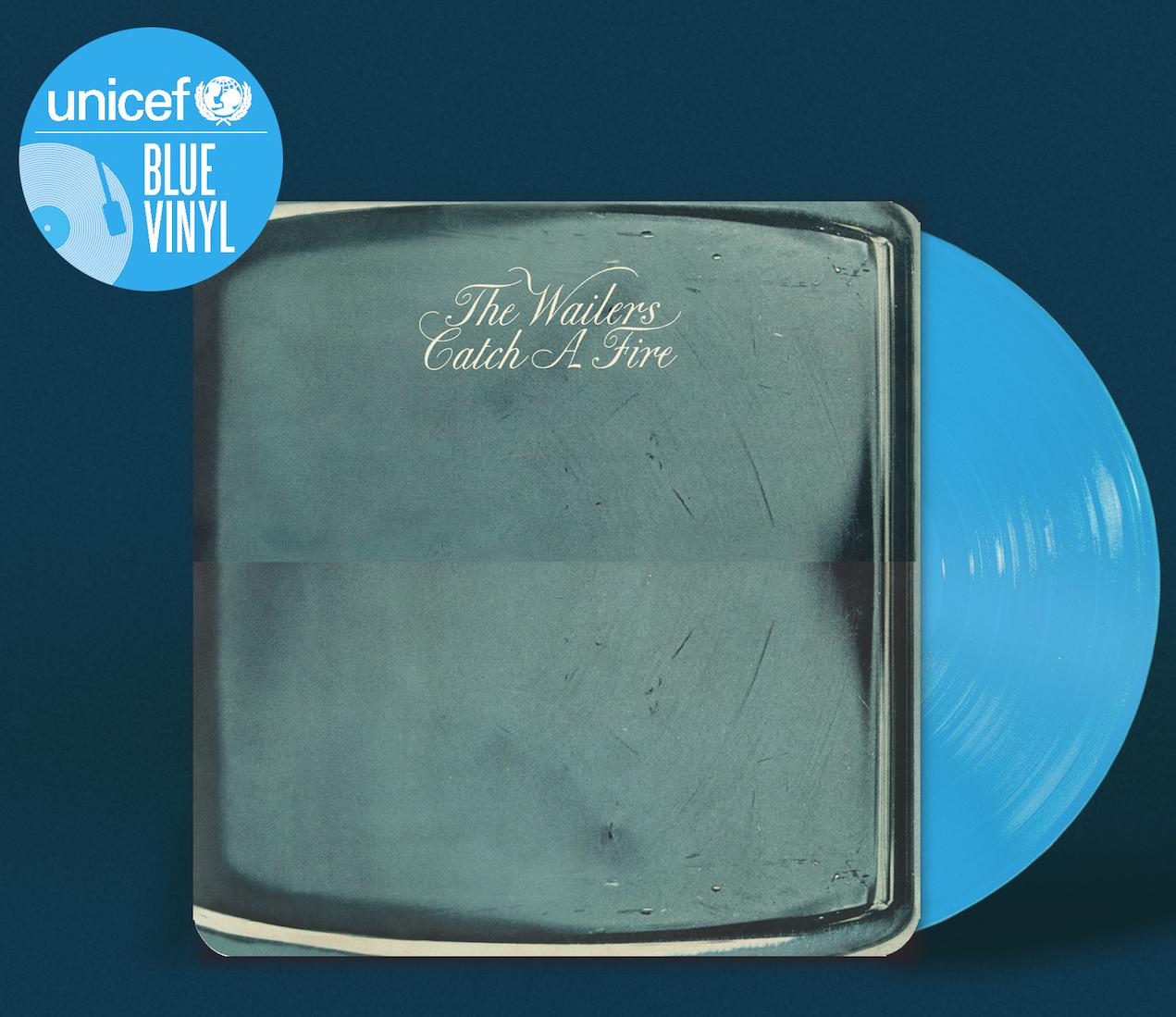 UNICEF BLUE VINYL: 16 SEMINAL ALBUMS